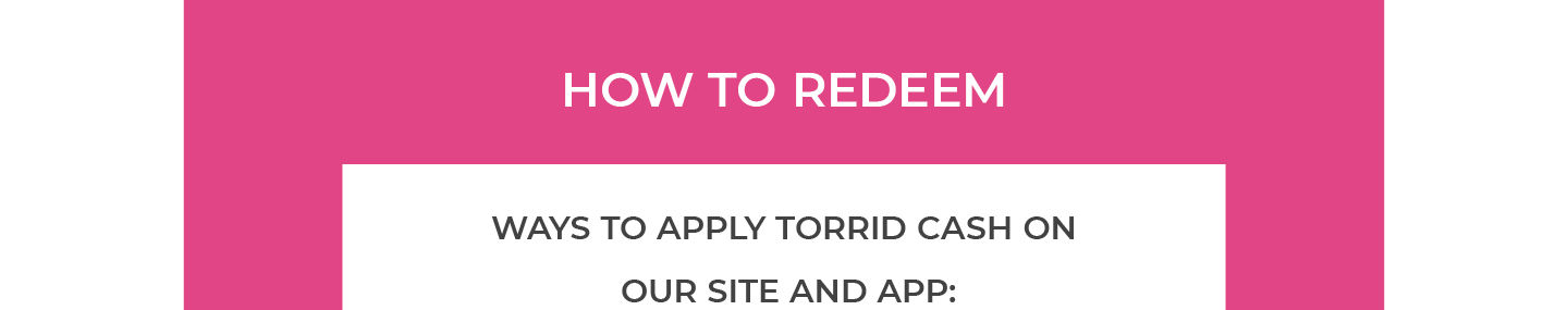 How to Redeem, Apply in Checkout