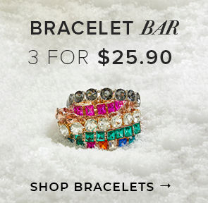 Bracelet Bar 3 For $25.90 - Shop Bracelets