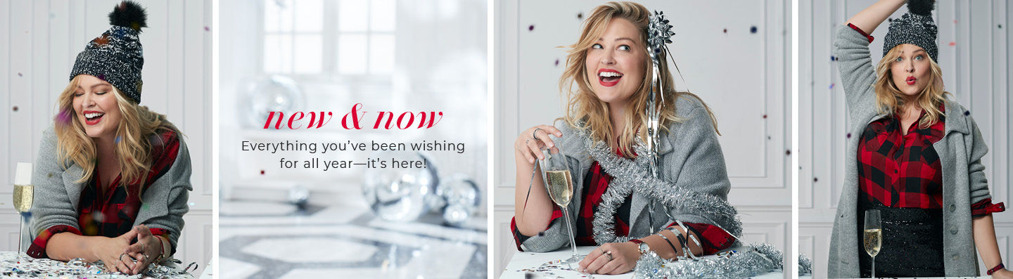 new & now. Everything you've been wishing for all year - it's here!