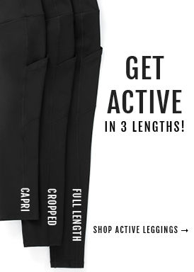 Get Active, Shop Active Leggings