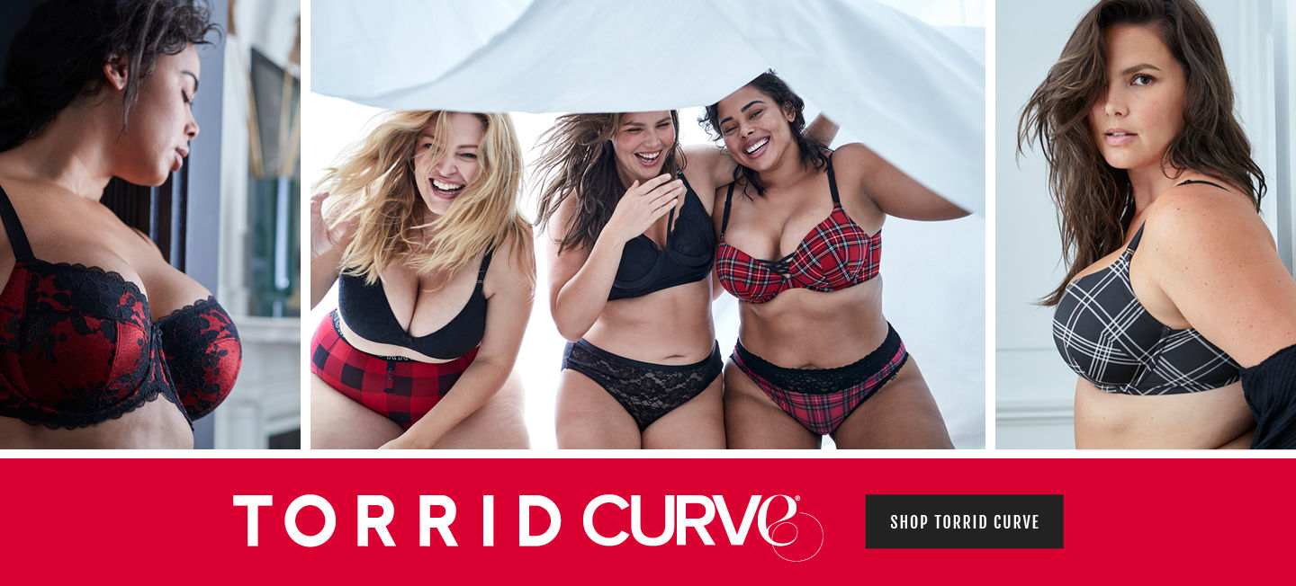 This is Torrid Curve, Shop Torrid Curve.