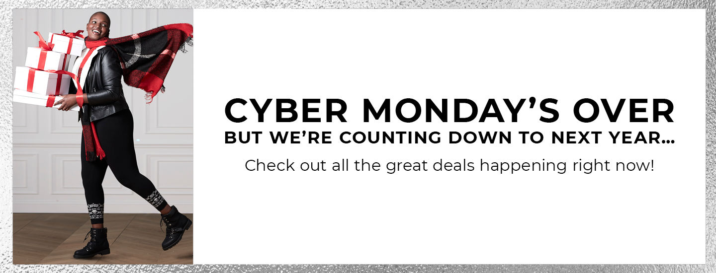 Cyber Monday's Over But W're Counting down to next year.. Check out all the great deals happening right now!