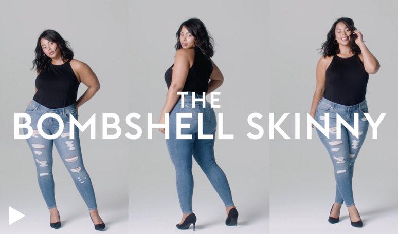 Bombshell Skinny