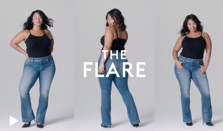 Feel the Fit Video, Flare
