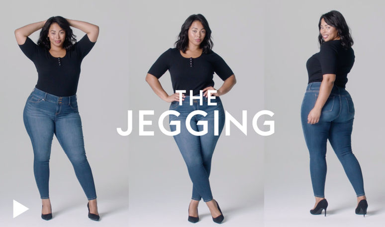 Feel the Fit Video, Jegging