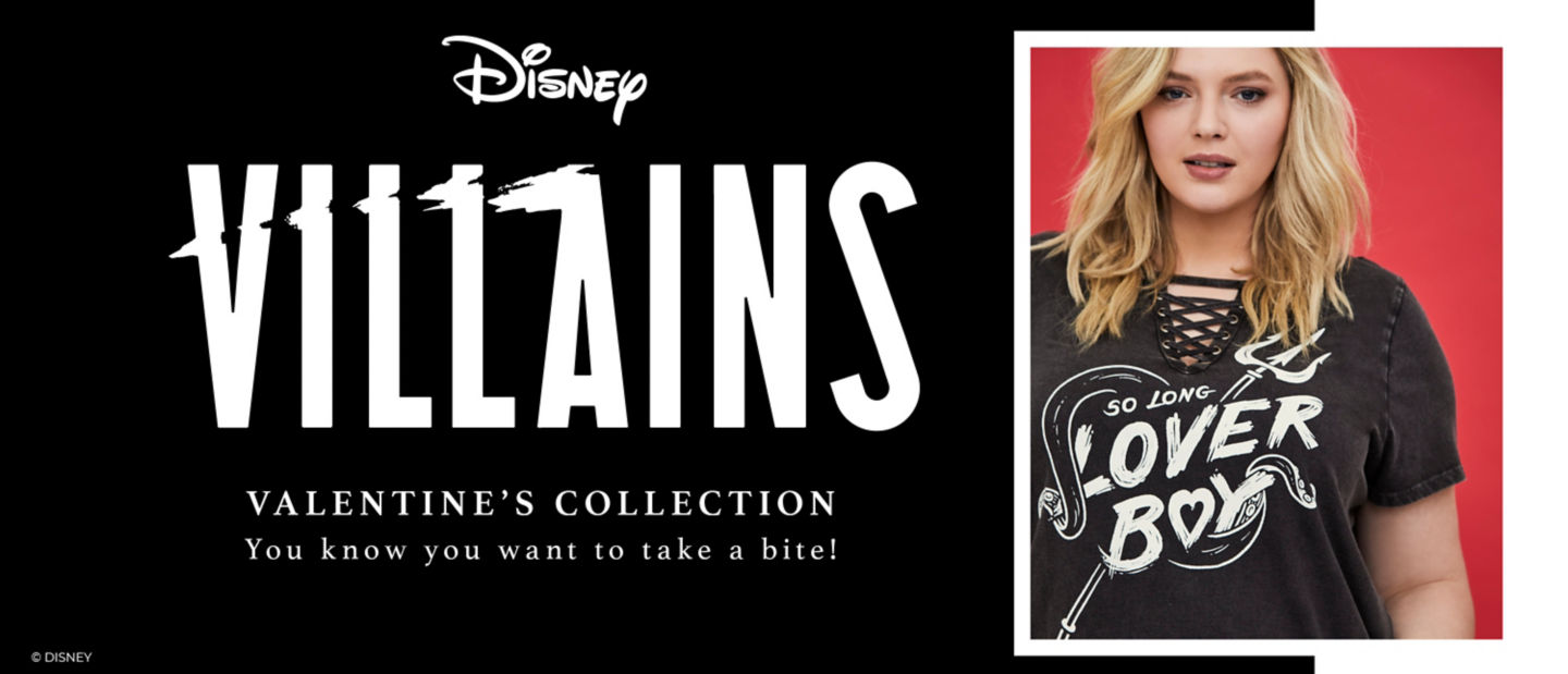 Disney Villains Valentine's Collection You know you want to take a bite