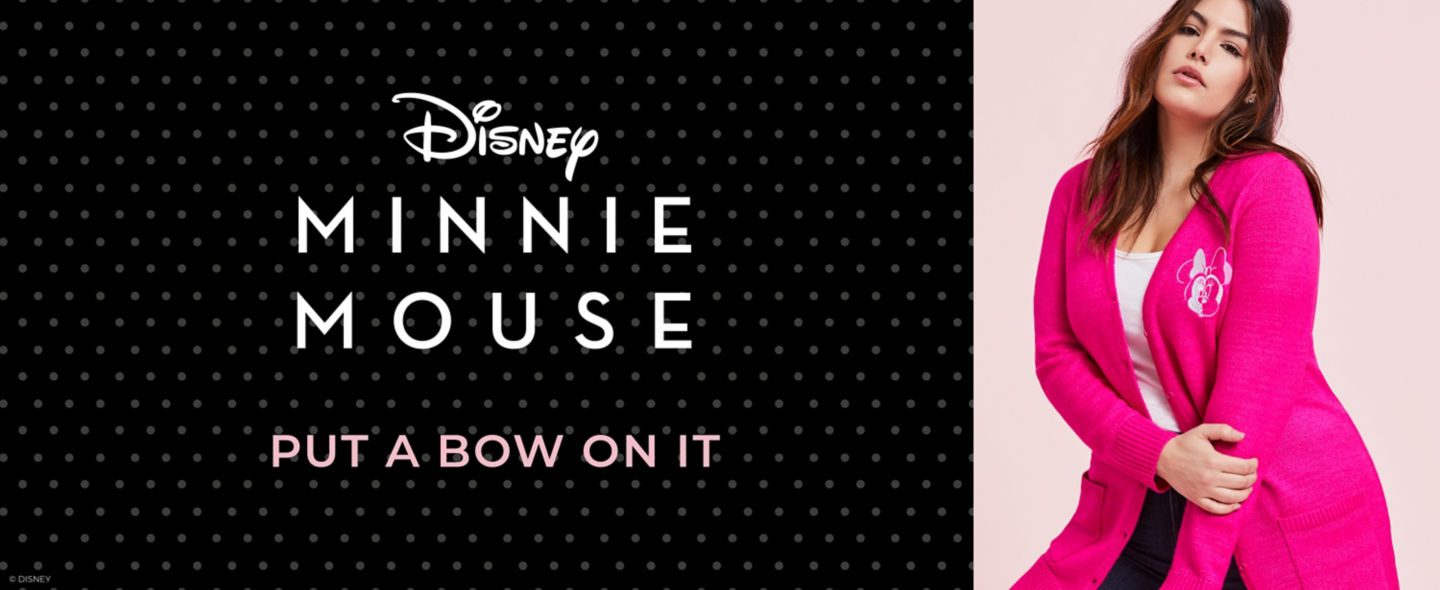 Minnie Mouse Put A Bow On It