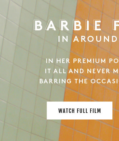 Barbie Ferreira In Around The Clock. In Her Premium Ponte Pant, she does it all and never missed a beat... Well, barring the occasional missed train... Watch Full Film