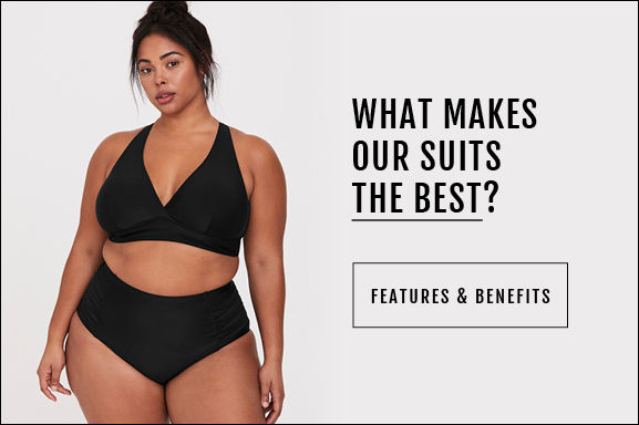 What makes our swimsuits the best? Click to see Features & Benefits