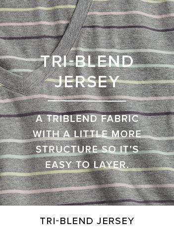 Tri-Blend Jersey
