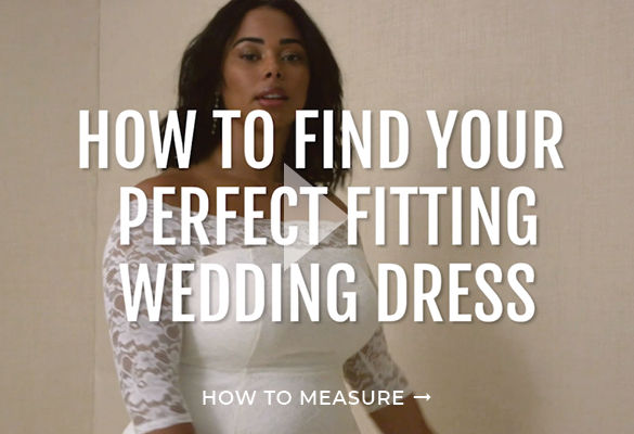 How To Measure Your Wedding Dress Size