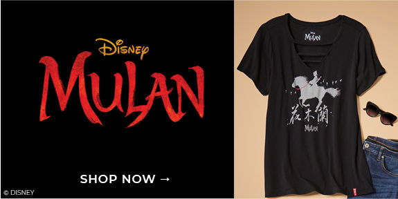 Disney Mulan, Shop Now
