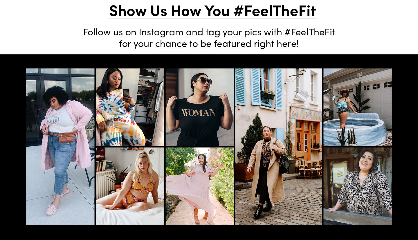 Show Us How You #Feelthefit. Tag your pics on Instagram with #FeelTheFit for your chance to be featured right here!