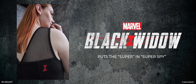 Marvel Black Widow. Puts the 'super' in 'super spy'