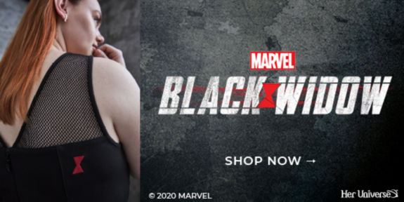 Marvel Black Widow, Shop Now