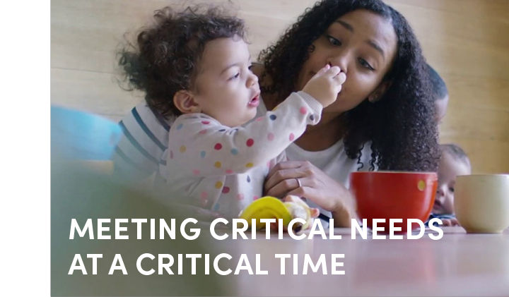 Meeting Critical Needs at a critical Time