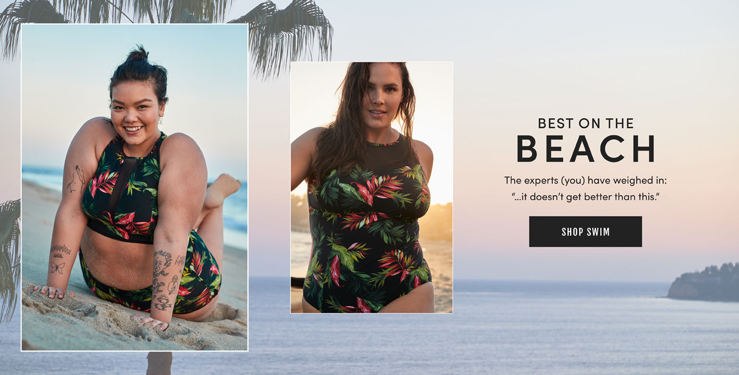 Best On The Beach. The experts(you) have weighed in: '...it doesnt get better than this.' Shop Swim