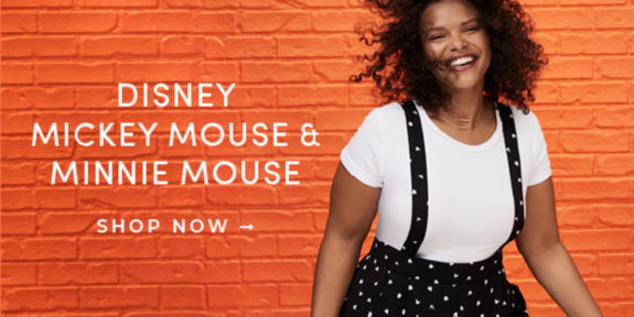 Disney Mickey Mouse & Minnie Mouse, Shop Now
