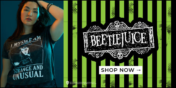 Beetlejuice, Shop Now