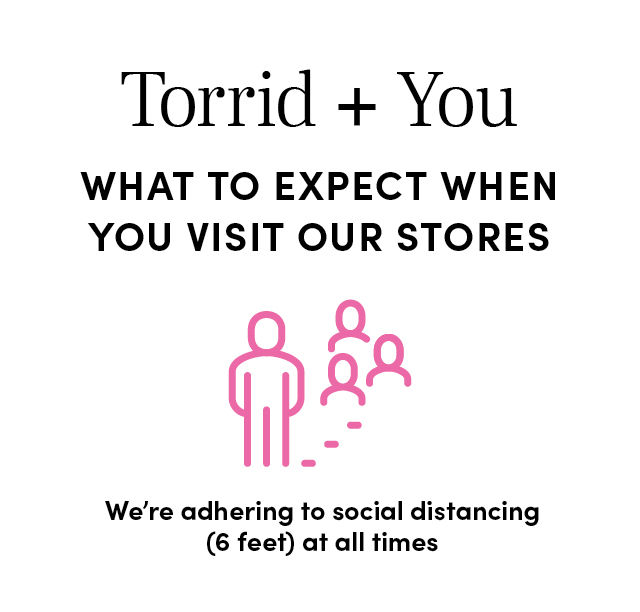 What to Expect when you visit our stores - We're adhering to social distancing (6 feet) at all times
