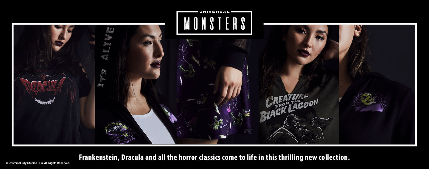 Universal Monsters. Frankenstein, Dracula and all the horror classics come to life in this thrilling new collection.