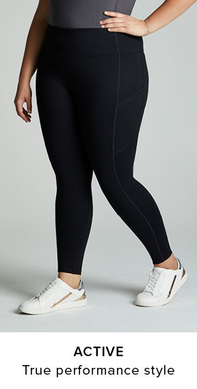 Active Leggings. True performance gear