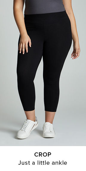 Crops leggings. just a little ankle