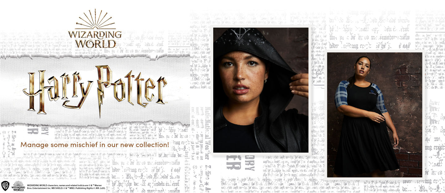 Wizarding World Harry Potter. Manage some mischief in our new collection!