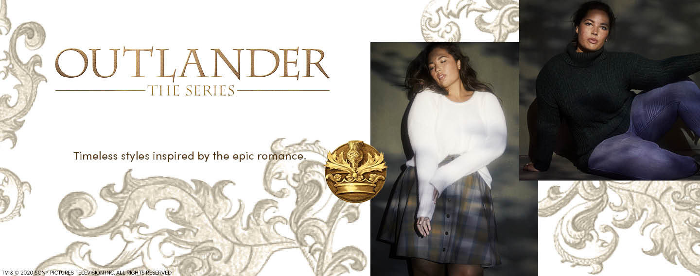Outlander The Series. Timeless styles inspired by the epic romance