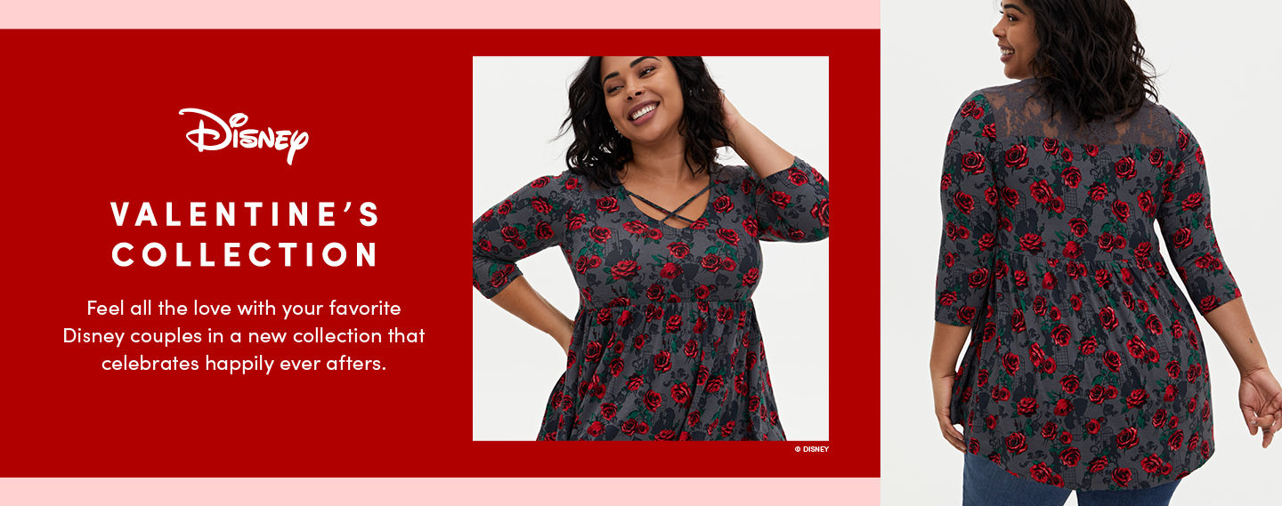 Disney Valentines Colection. Feel all the love with your favorite Disney couples in a new collection that celebrates happily ever afters. - Lookbook 1