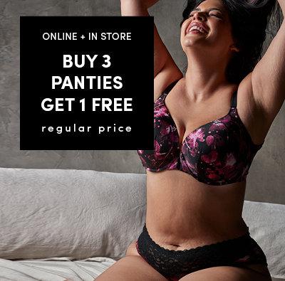 Buy 3 Get 2 Free Panties