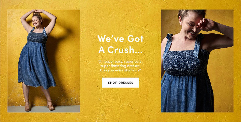 We've got a crush... On super easy, super cute, super flattering dresses can you even blame us? Shop Dresses
