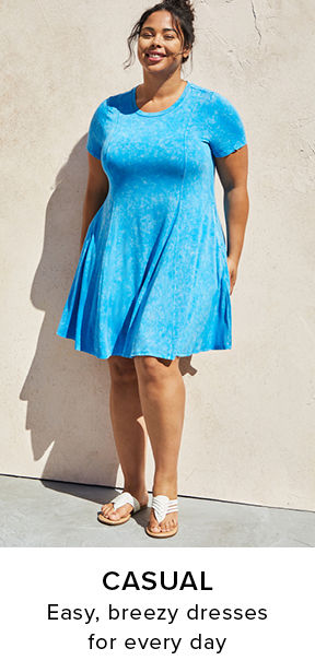Casual Easy, breezy dresses for every day