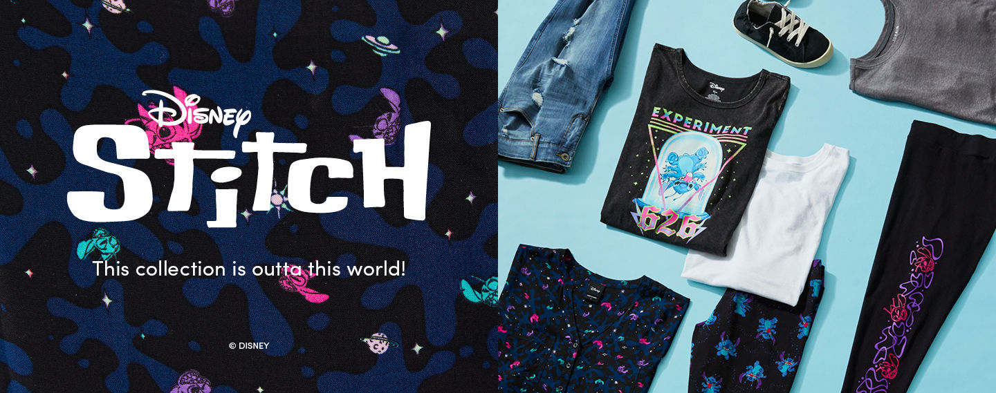 Disney Stitch This collection is outta this world.