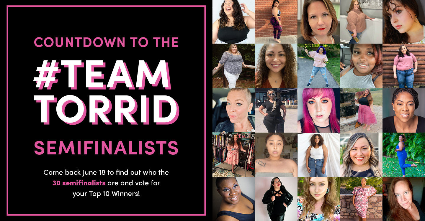 Come back June 18 to find out who the 30 semifinalists are and vote for your Top 10 Winners!