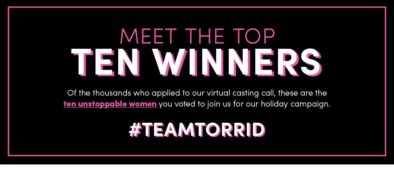 Team Torrid 2021 Winners