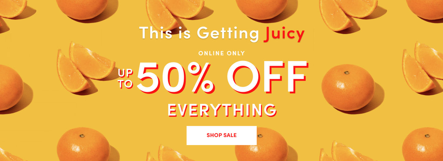 Online Only Up To 50% Off Everything Shp Sale