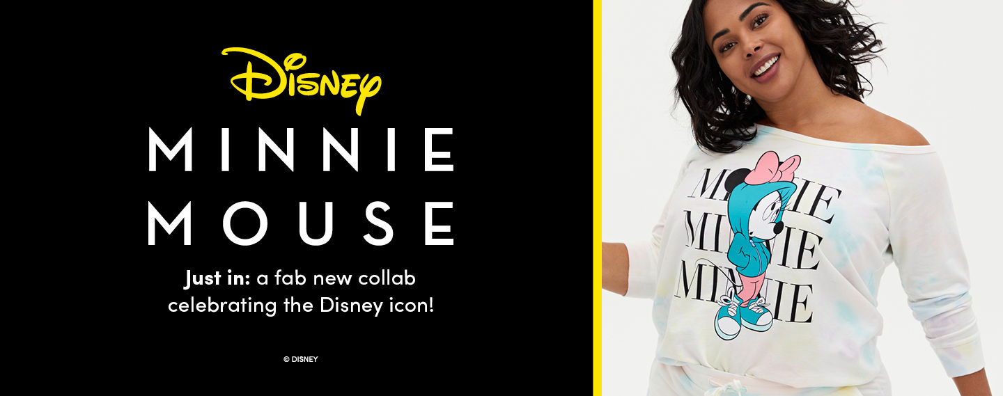 Disney Minnie Mouse Just in: a fab new collab celebrating the Disney Icon! - Lookbook 1