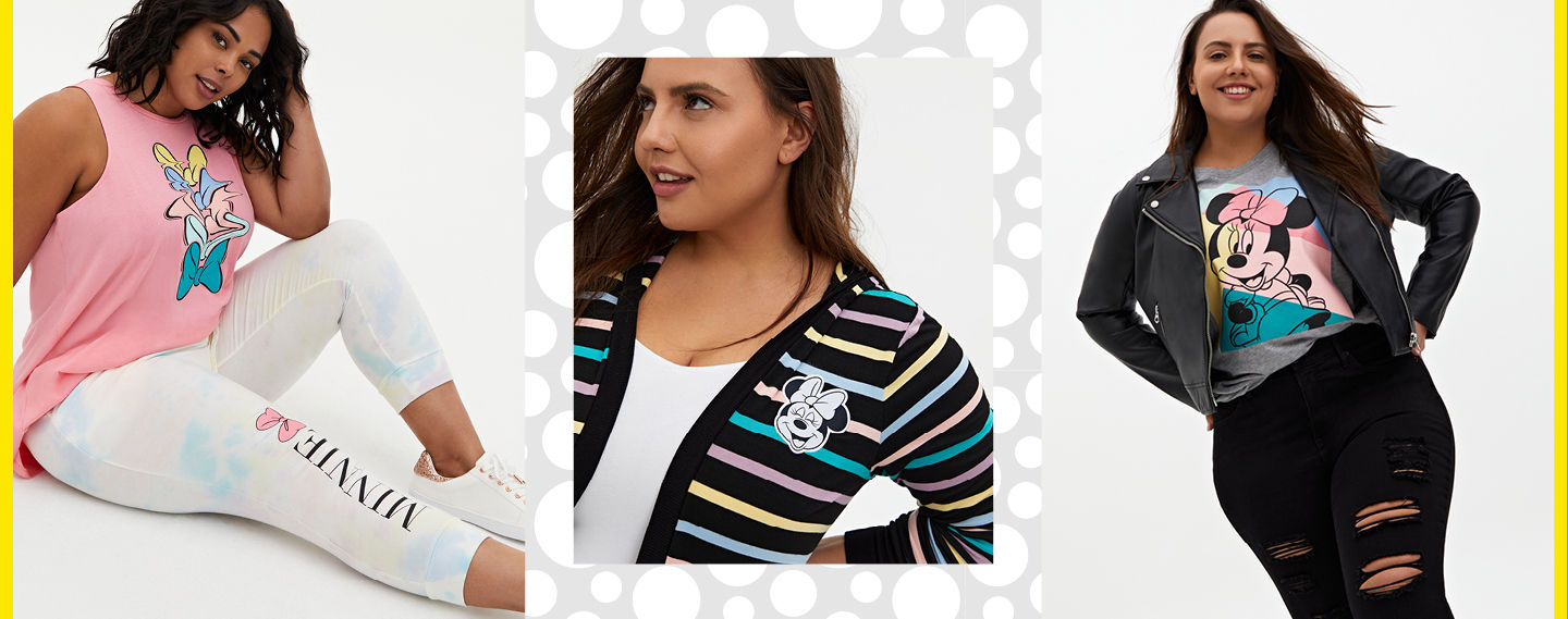 Disney Minnie Mouse Just in: a fab new collab celebrating the Disney Icon! - Lookbook 2