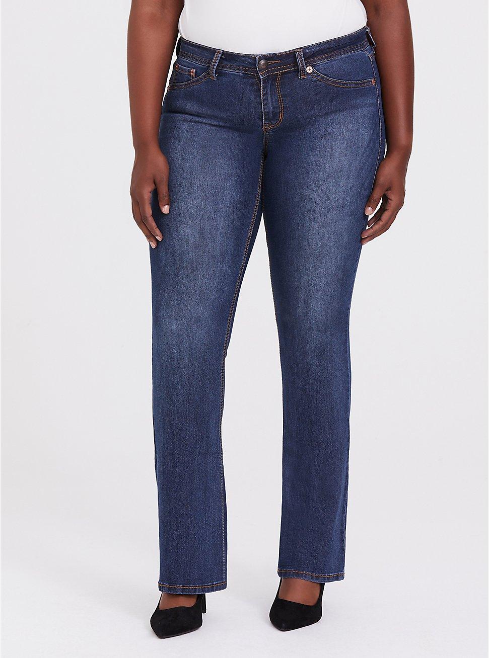Slim Boot Jean - Medium Wash, , fitModel1-hires